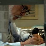 Hayao Miyazaki working on THE WIND RISES (© 2013 dwango)