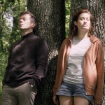 """Mathieu Amalric (Pierre) and Emmanuelle Devos (Pomme), in """"If You Don't, I Will"""""""