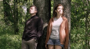 "Mathieu Amalric (Pierre) and Emmanuelle Devos (Pomme), in ""If You Don't, I Will"""