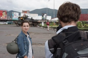 "Journalist Melanie Gouby, in ""Virunga"""