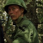 Vinh Nguyen, a former ARVN (Army of the Republic of Vietnam) soldier, now a war reenactor