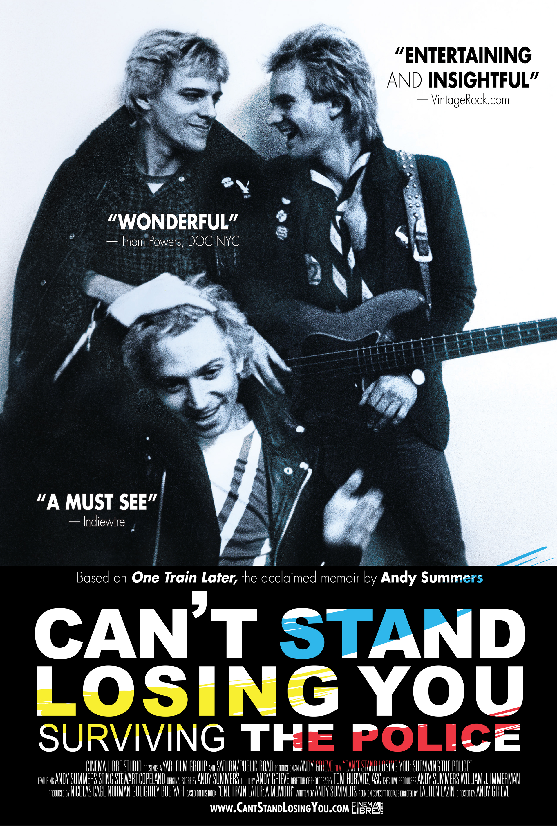 Can't Stand Losing You: Surviving the Police -- Signed CD Giveaway!