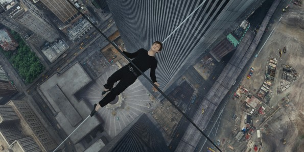 Philippe Petite (Joseph Gordon-Levitt) in TriStar Pictures' THE WALK.
