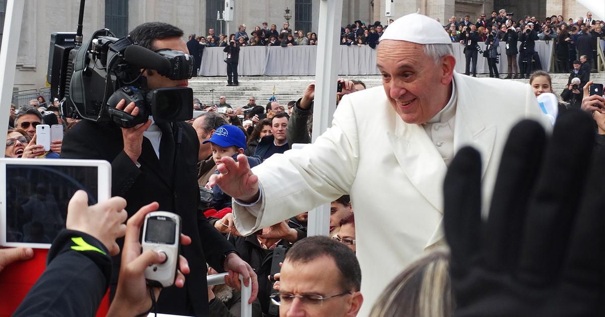 Pope Francis by Reynaldo Dallin. Public Domain