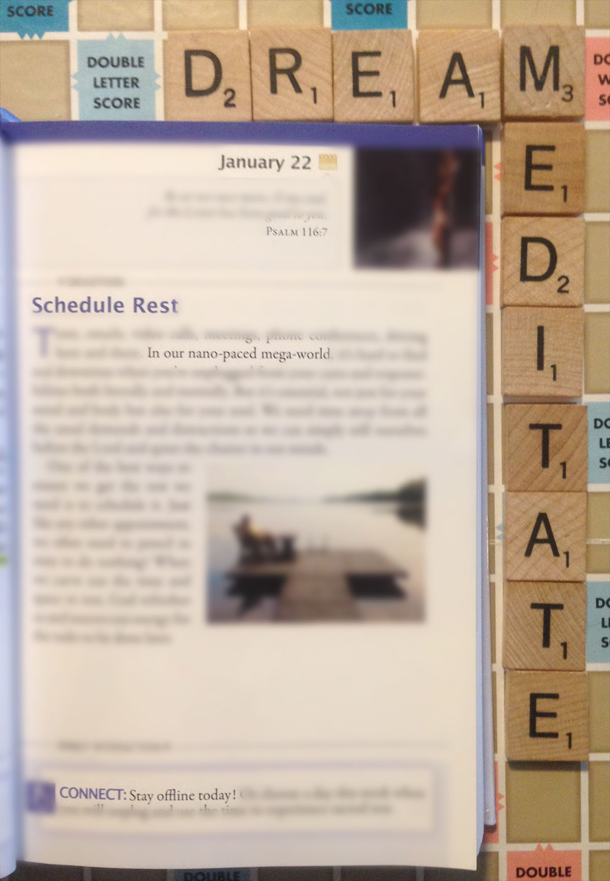 """""""Schedule Rest"""" - Naptime With God (Living Without Jesus, Daily - January 22)"""
