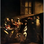 Caravaggio - The Calling of St. Matthew