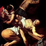 800px-Caravaggio_-_Martirio_di_San_Pietro