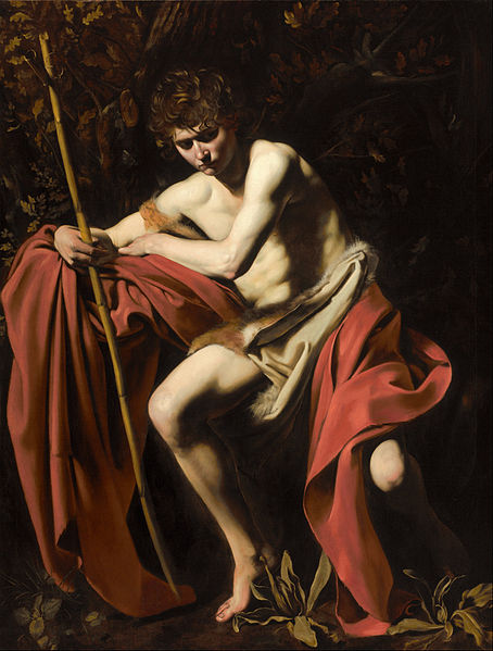 454px-Michelangelo_Merisi,_called_Caravaggio_-_Saint_John_the_Baptist_in_the_Wilderness_-_Google_Art_Project