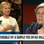 Elizabeth Warren on shortlist for Hillary Clinton's VP pick