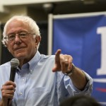 Bernie Sanders warns against voting for a third party this November