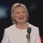"Hillary Clinton declares ""I believe in science"" in her acceptance speech"