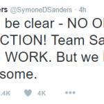"Bernie Sanders Press Secretary: ""No one stole this election!"""