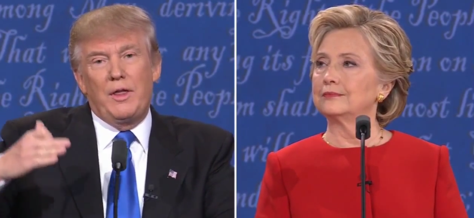 First debate recap: Hillary looks presidential while Trump stumbles