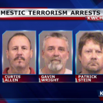 Christian terrorists plan to kill Muslims, but are arrested before the attack