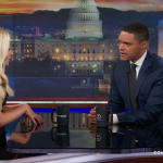 Trevor Noah tries to discuss racism with anti-BLM conservative Tomi Lahren