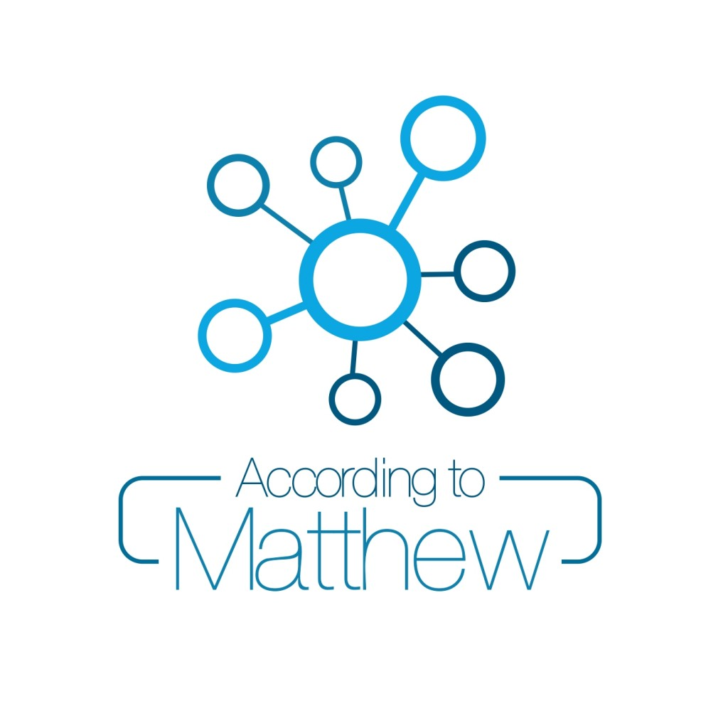 According to Matthew_logo