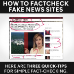 This Video Shows You How To Quickly Fact Check If A Website Is Fake News