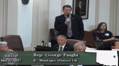 """During Abortion Bill Hearing Oklahoma Lawmaker Says Rape & Incest Are """"Will Of God"""""""