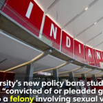 Student Athletes Who Have A History Of Sexual Assault Or Domestic Violence Will Be Banned From Indiana University