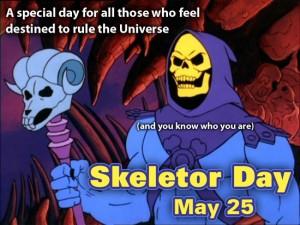 Skeletor Day