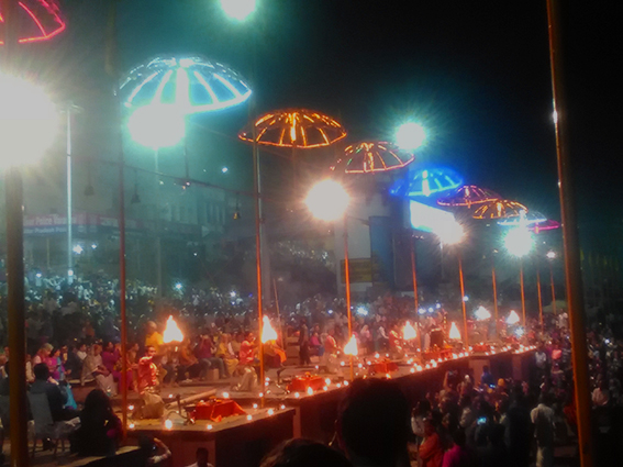 Aarti, Ganges, Varanassi