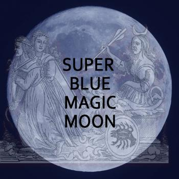 Super Blue Magic Moon!