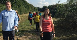 Nordic Walking (Source: Nikki Barnett)