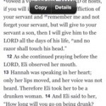 Desperate women required (1 Samuel 1)