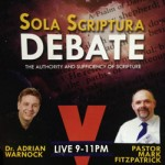 LIVE TV DEBATE:  Does Modern day prophecy automatically weaken Sola Scriptura?