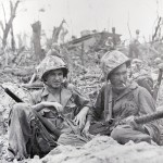 Marines on Peleliu