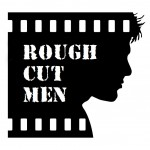 Rough Cut Men Face Logo DUE DATE