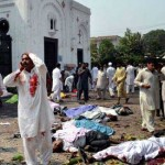 Church bombing Pakistan