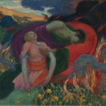 The Rape of Persephone - Rupert Bunny (1913)