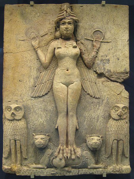 Queen of the Night, British Museum. Image by BabelStone. CC license 1.0.