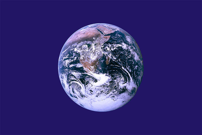 Earth Day Flag. Image courtesy of the author.