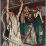 Queen Maeve and the Druid, 1904