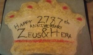 Zeus & Hera Cake by Sunweaver