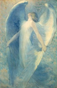 William Baxter Closson (1848-1926), The Angel, ca. 1912