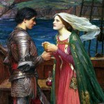 John William Waterhouse, Tristan and Isolde with the Potion
