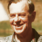 Joseph Campbell, late 1970.  Image by Joan Halifax via Wikimedia Commons. (CC BY 2.0)