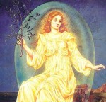 Lux in Tenebris by Evelyn De Morgan. Image via Wikimedia Commons. Public domain.