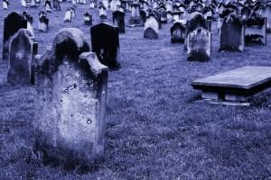 Old Graveyard, by Petr Kratochvil