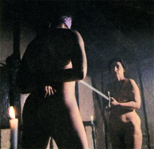 Sex club initiation rites