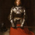 Joan of Arc, 1865, by John Everett Millais (1829-1896)