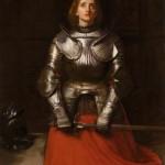 Joan of Arc, 1865, by John Everett Millais (1829-1896)