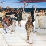 A Dedication to Bacchus, 1889