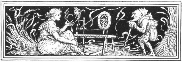 Rumpelstiltskin, Walter Crane [Public domain], via Wikimedia Commons