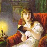 Girl Reading Ghost Story