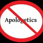 No Apologetics Zone