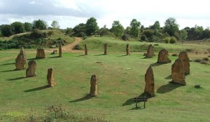 Ham_Hill_Stone_Circle. Image by Gaius Cornelius, CC license 3.0